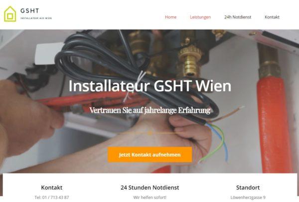 Installateur GSHT