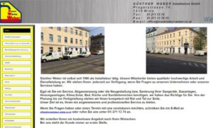 Weber Guenther Installationen